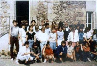 """1984 : Die """"Pioniere"""": 1. Schüleraustausch in Marcillat"""