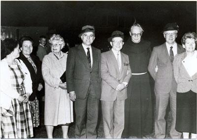 1988: 1. Besuch einer Delegation aus Marcilat in Wadersloh, hier beim Schützenfest in Göttingen