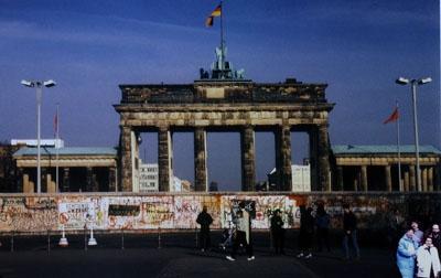 1989: Schüleraustausch mit Dreitagesausflug in das noch geteilte Berlin