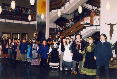 1991: Die Gruppe Bitous in Wadersloh