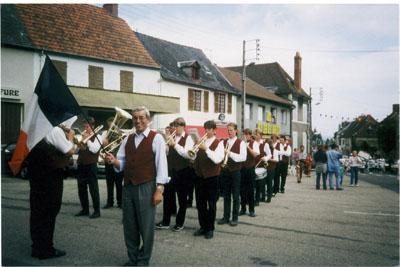 1996: Das Blasorchester Diestedde in Marcillat