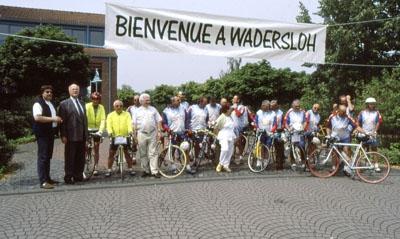 2000: Deutsch-Französische Radtour des Radfahrer-Clubs Néris (CTN) > Néris-Wadersloh (1000 km) in acht Etappen