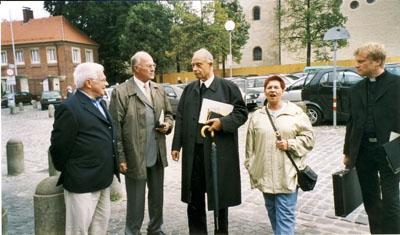 2003: Treffen mit Bischof (em.) Reinhard Lettmann in Münster