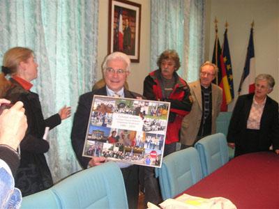 2010: 25 Jahre Schüleraustausch mit dem Collège Francois-Rabelais in Néris-les-Bains