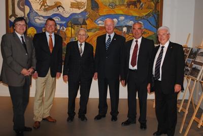2011: 20 Jahre Gemeindepartnerschaft mit dem Kanton Marcillat