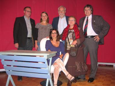 2011: 20 Jahre DFF - Auftritt von Nathalie Licard in Wadersloh
