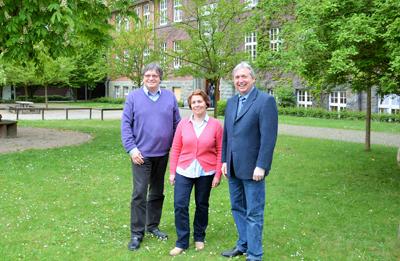 2015 - Martine Galizzi, Leiterin des Schüleraustauschs mit Néris seit 1985, wird verabschiedet.