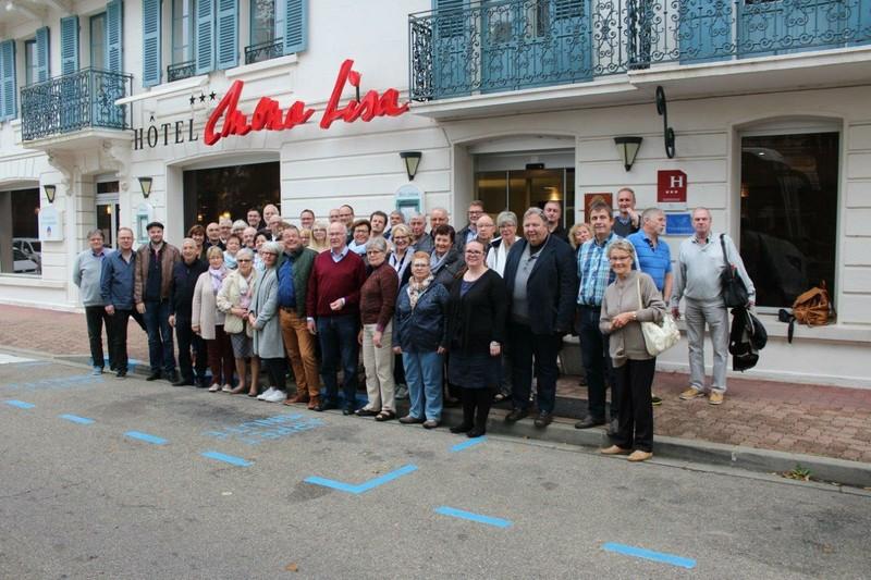 2017 - Wadersloher Delegation in Néris zum 20. Partnerschaftsjubiläum
