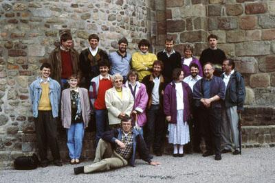 1990 : Lehrerausflug des Johanneums nach Marcillat