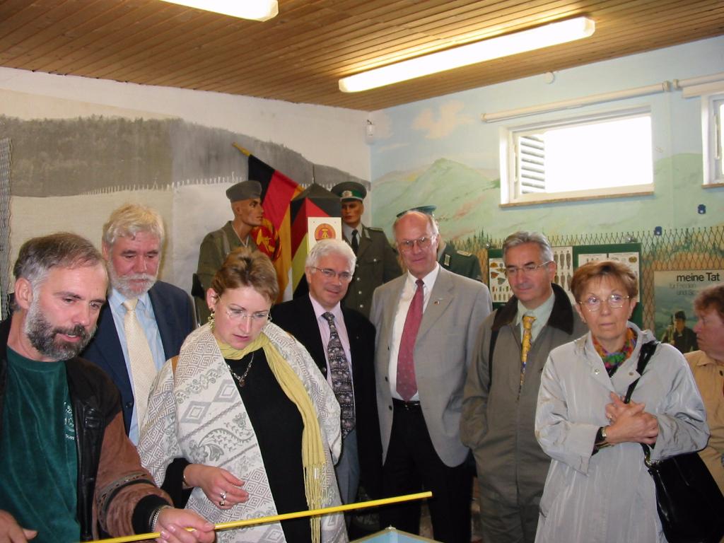 Besucherdelegation im Grenzmuseum Bad Sooden-Allendorf