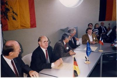 Partnerschaftsfeier 1991 in Wadersloh