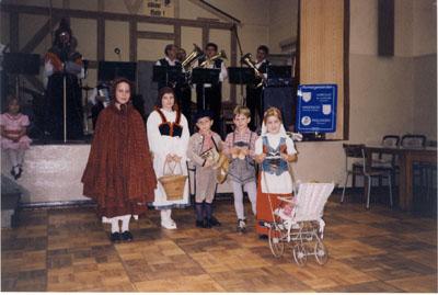 Partnerschaftsfeier 1991 in Faulungen