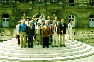 Besuch im Palais du Luxembourg in Paris