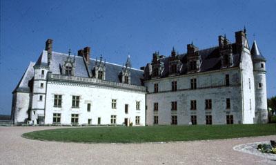 Schloss von Amboise an der Loire