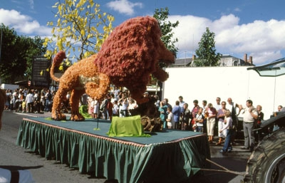 Festumzug in Saint-Pourcain (Weinfest)