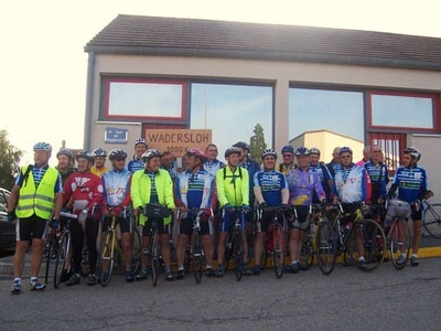 Cyclotouristes Néris-les-Bains 2007