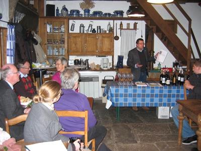 1. französisches Weinseminar des DFF