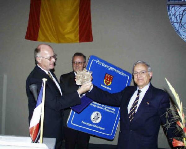10 Jahre Gemeindepartnerschaft - Festakt